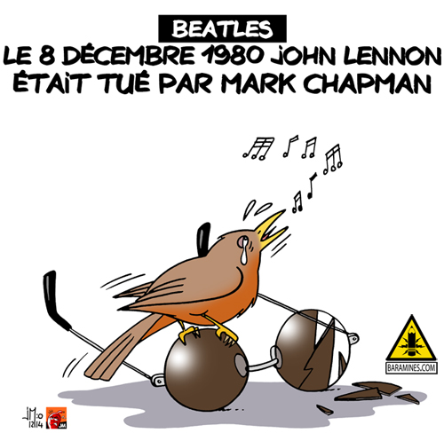 john lennon,mark chapman,beatles